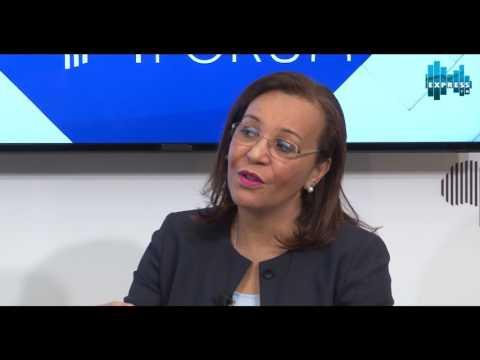 Interview avec Madeleine Berre -  Ministre du commerce (Gabon)