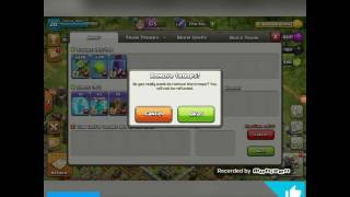 Stronger attack in clash of clans history attacking with workers