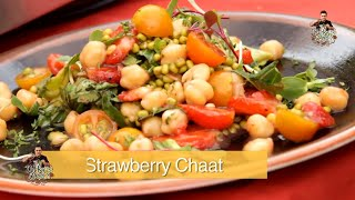 How To Make A Strawberry Fruit Salad Into A Chaat By Vicky Ratnani
