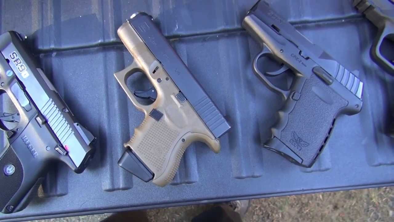 Battle of the Sub-Compact 9mm Handguns (2013) (HD)