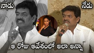 MAA President Sivaji Raja Reaction On Sri Reddy...