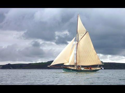 Pilot Cutter Freja's Maiden Voyage