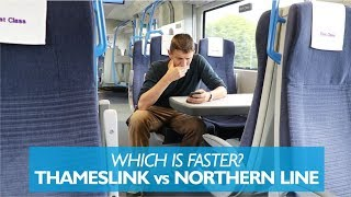 Which is faster? Thameslink vs Tube
