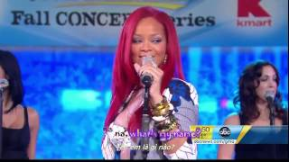 Download [Vietsub] Rihanna - What's My Name (hát live tại GMA) MP3 song and Music Video