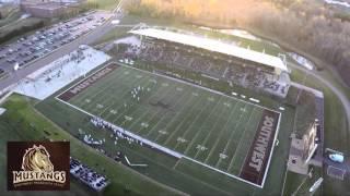 SMSU Mustang Football - Aerial View