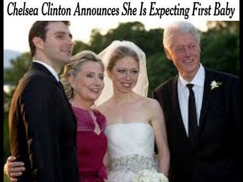 Chelsea Clinton Is Pregnant Hillary Clinton Excited Grandpa Bill Ready for Baby