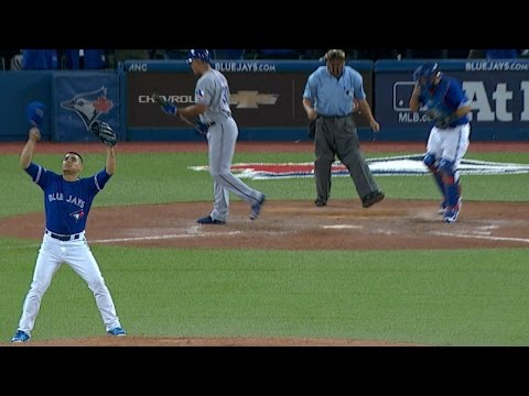 TEX@TOR Gm5: Osuna earns five-out save in clincher