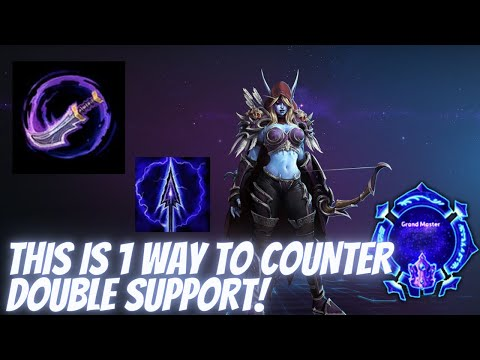 Sylvanas Arrow – This is 1 way to counter double support! – Grandmaster Storm League