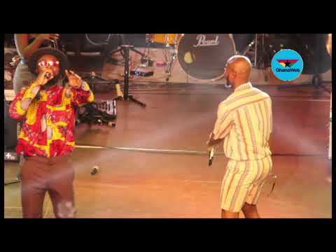 King Promise storms M.anifestivities as surprise act