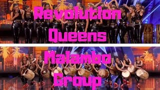 America's Got Talent 2019 Revolution Queens Malambo Group Auditions 6