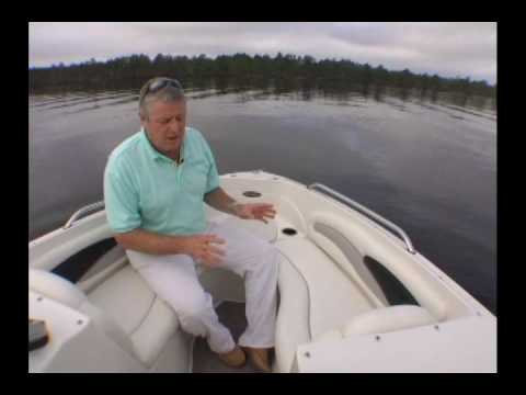 Stingray 205LR Walk-thru Video from Boating Life Magazine