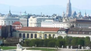 Бельведер. Вена(ВЕНА. АВСТРИЯ Дворец построил для себя Евгений Савойский (1663-1736), австрийский генералиссимус, председатель..., 2013-07-13T09:37:34.000Z)