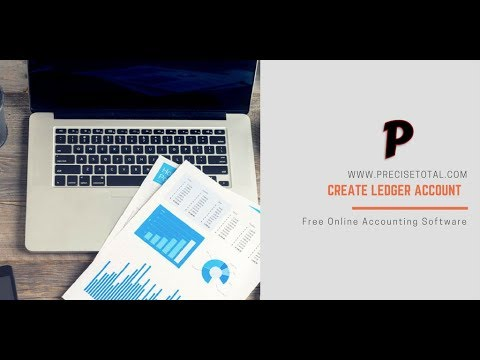 How to create Ledger account for free online / Cloud accounting