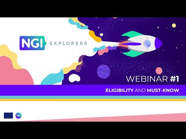 NGI Explorers   Open call 3 - webinar #1