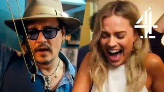 Margot Robbie, Johnny Depp, Emma Stone & More Celebs Freaked By Magic | David Blaine: Beyond Magic