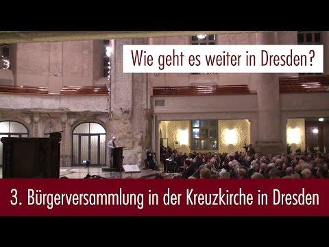 3. Bürgerversammlung in der Kreuzkirche in Dresden (03.03.2016)