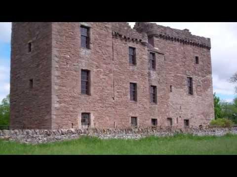 Ruthven Castle Perth Perthshire Scotland