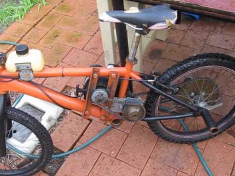 How i built my weed wacker bike youtube how i built my weed wacker bike greentooth Images