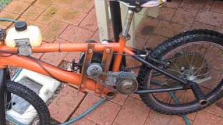 How I Built My Weed Wacker Bike