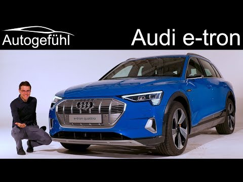 Audi etron REVIEW Premiere production car allnew Audi etron EV  Autogefühl