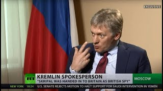 Skripal was of 'zero value' to Russia after spy swap, so why poison him now? – Kremlin spokesman
