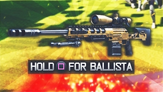 USING THE BALLISTA IN BLACK OPS 3! (Black Ops 3 Sniper DLC Weapon)