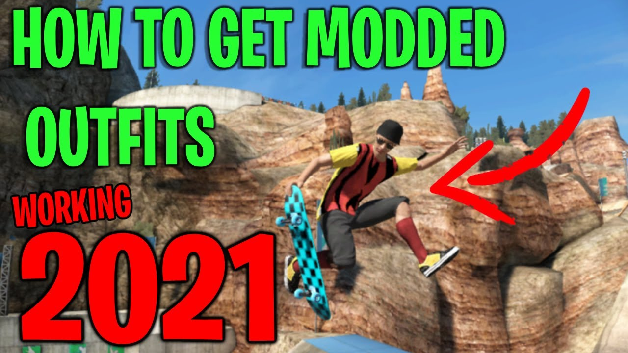 Skate 3 outfit GLITCH tutorial *WORKING 2021*