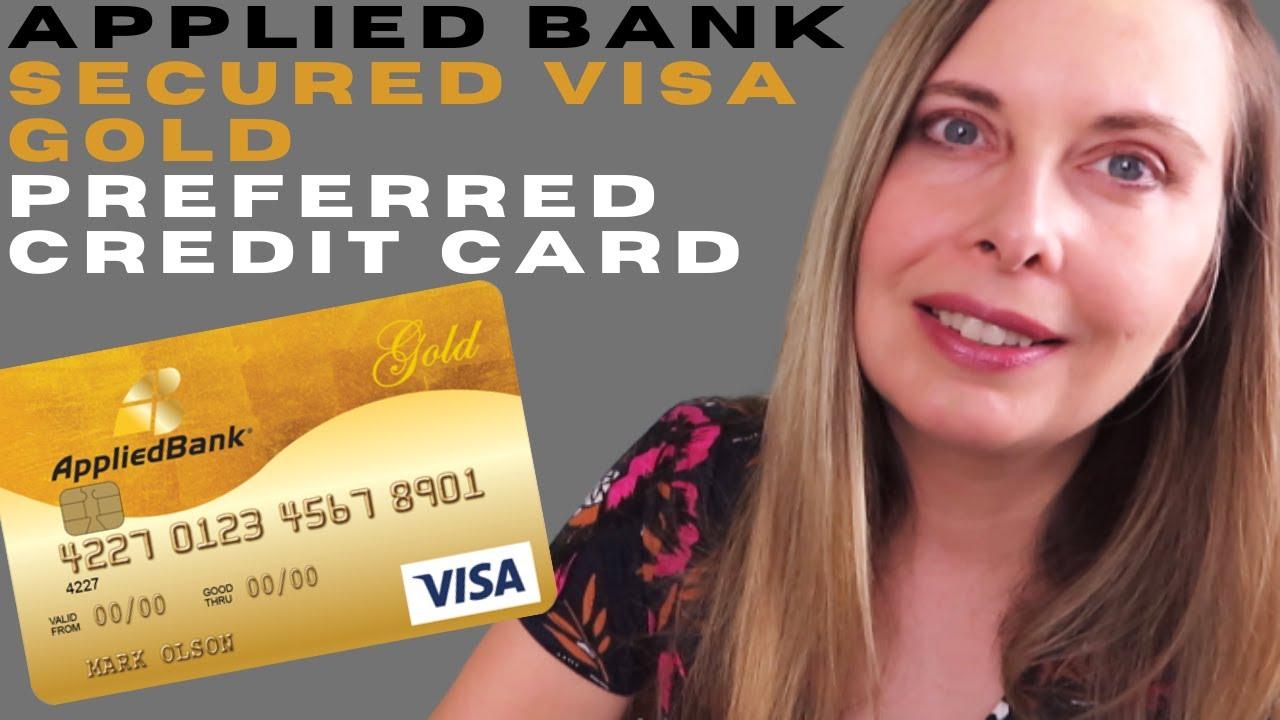 Applied Bank Secured Credit Card Review - Applied Bank Secured Visa Card