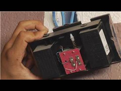 Home Repair  Maintenance  How to Replace a Doorbell Chime Box  YouTube