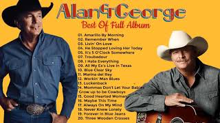 Alan Jackson  George Strait Greatest Hits = Best Classic Country Songs Of All Time