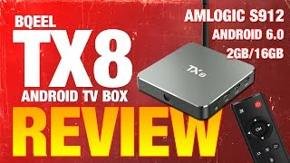 tx8 android tv box by bqeel amlogic s912 android 6 promo code
