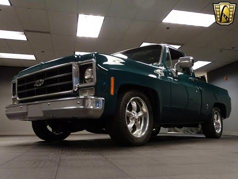 1977 Chevrolet C10 Stock # 808-DET