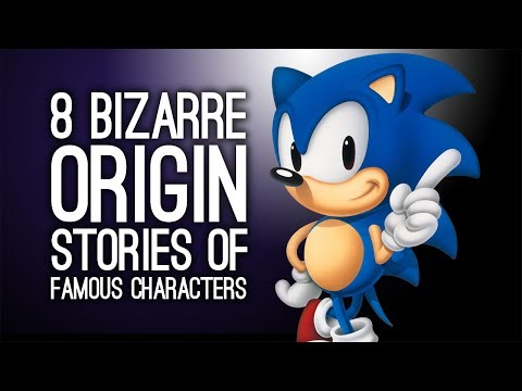 8 Bizarre Origin Stories of Famous Videogame Characters