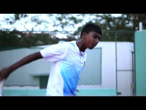 Rising Star - Tennis Player Giri from Anglo Chinese School (Barker)