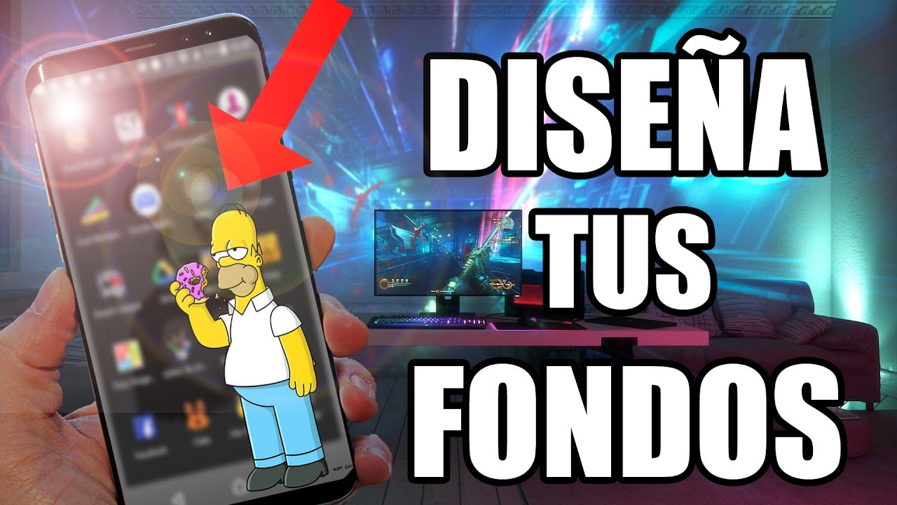 Fondos De Pantalla Para Celulares Android Y Iphone 2018: Crea Tus FONDOS De PANTALLA 2018