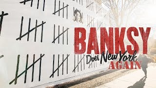 Banksy Returns to NYC