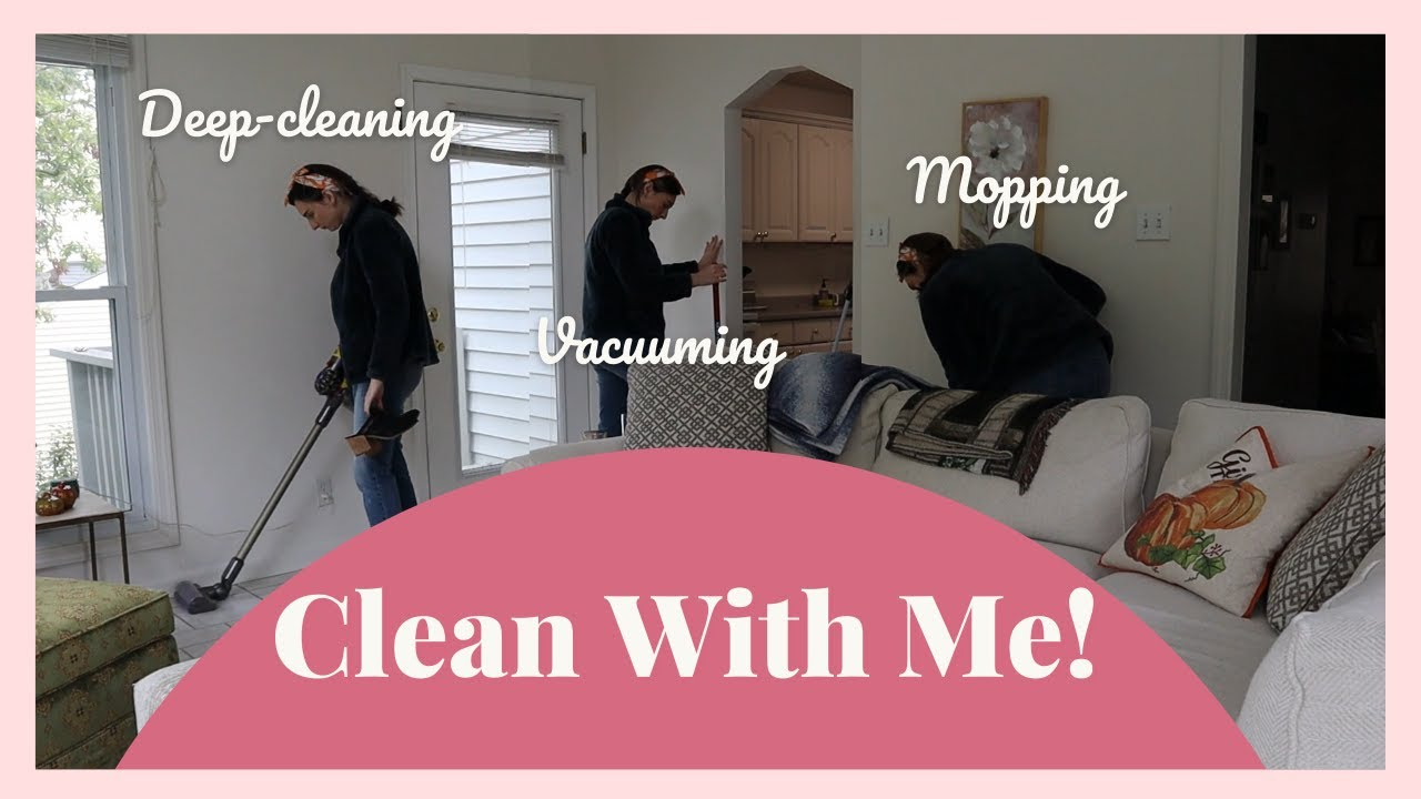 Download CLEAN with me! // 17-week pregnancy update, getting a HAIRCUT, and more...