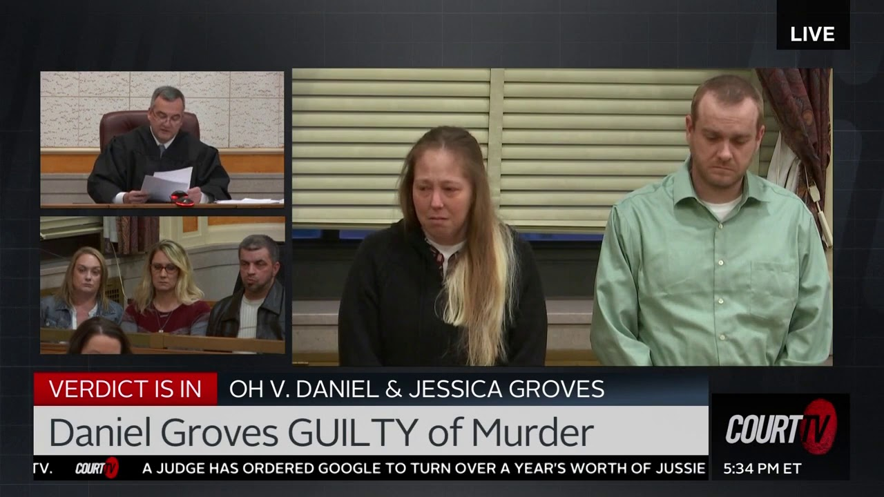 Download VERDICT: Daniel & Jessica Groves learn their fate for killing infant son Baby Dylan   COURT TV
