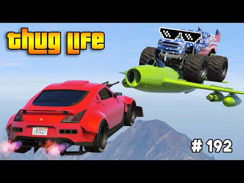 GTA 5 THUG LIFE AND FUNNY MOMENTS (Wins, Stunts And Fails #192)