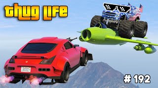 GTA 5 THUG LIFE AND FUNNY MOMENTS (Wins, Stunts and Fails #192)