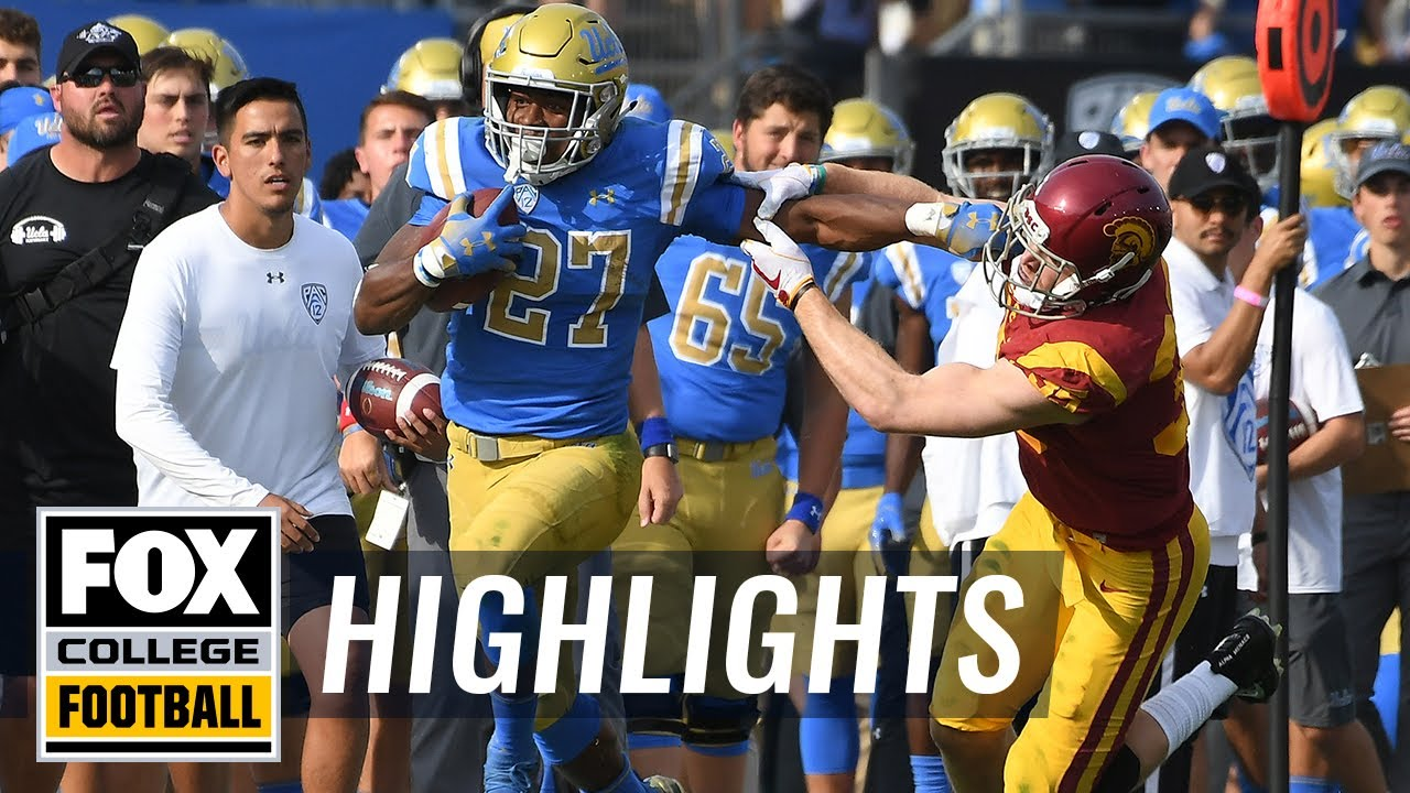USC vs. UCLA | FOX COLLEGE FOOTBALL HIGHLIGHTS - YouTube