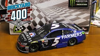 NASCAR Diecast Review - Kasey Kahne 2017 Brickyard 400 Raced Win 1/24