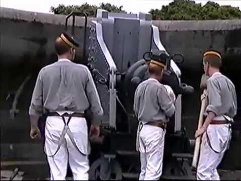 No 1 Depot Company Gunnery display at Crownhill Fort