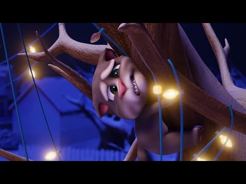 EXTREME Holiday Lights 🎄- Talking Tom Shorts (S2 Episode 6)