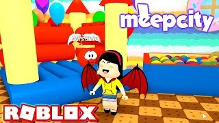 Is She a Bat? a Devil? a Fairy? - Roblox Roleplay MeepCity/Meep City - DOLLASTIC PLAYS!