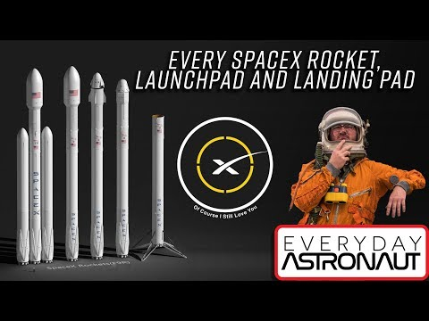 What rockets SpaceX launch, where they launch & where they land (Beginner's guide to SpaceX Part 1)