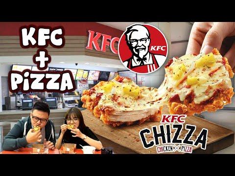 KFC PIZZA Aneh / Enak ?? Review Jujur KFC Mini Chizza !!