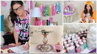 DIY Room Organization/ Spring Cleaning + Decor! Thumbnail
