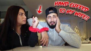 HAND CUFFED TO MY WIFE! YOUTUBE KIDS