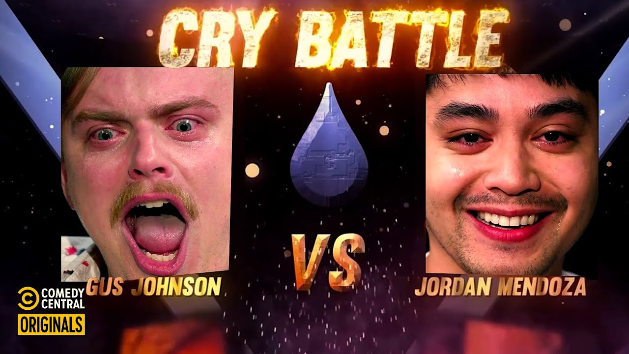 Gus Johnson Proves He's a Giant Crybaby - Cry Battle